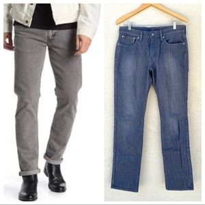 Levi's mens 511 commuter jeans gray denim pant 32